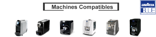Machines compatibles lavazza blue